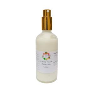 Crema de Zanahoria y coco con ácido hialuronico